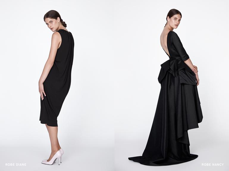 UNTTLD-robe noire