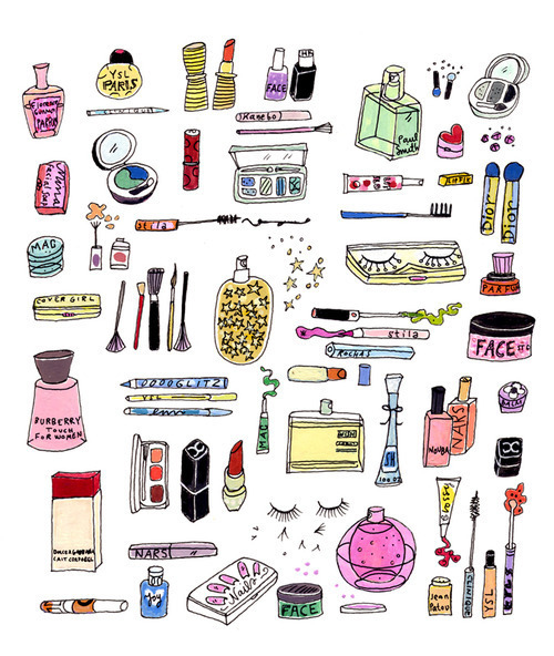 brand-cartoon-illustration-make-up-postcards-from-far-away-Favim.com-73949