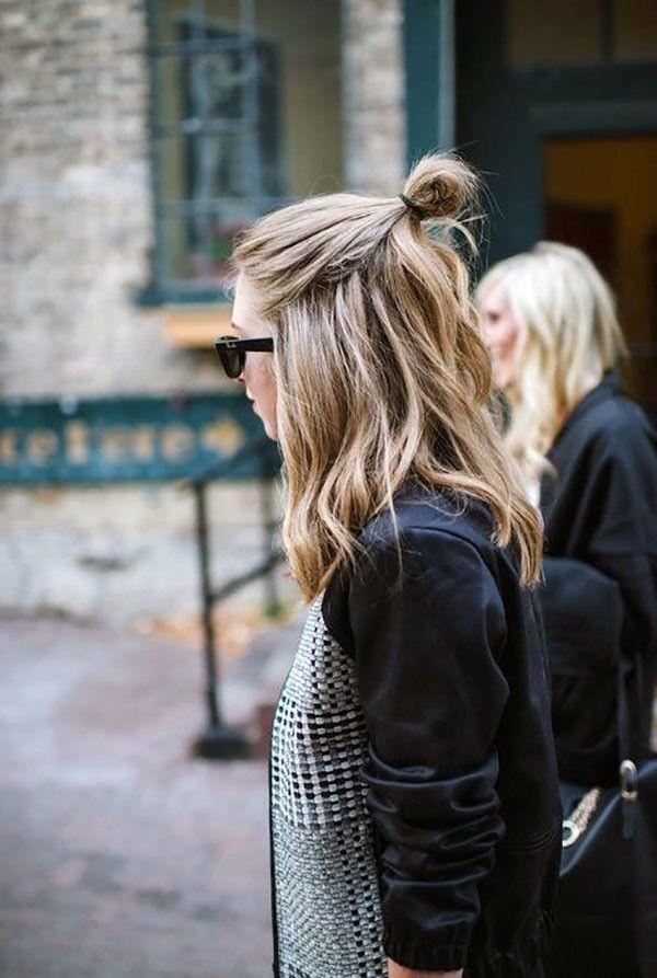 half-bun-hair