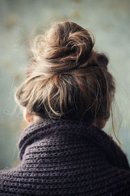messy-bun-hair-style