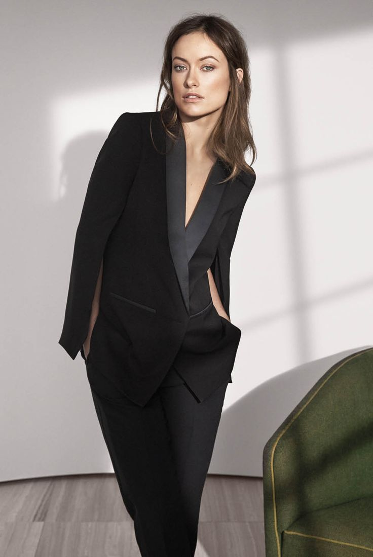 feminine-look-smoking-blazer-olivia-wilde