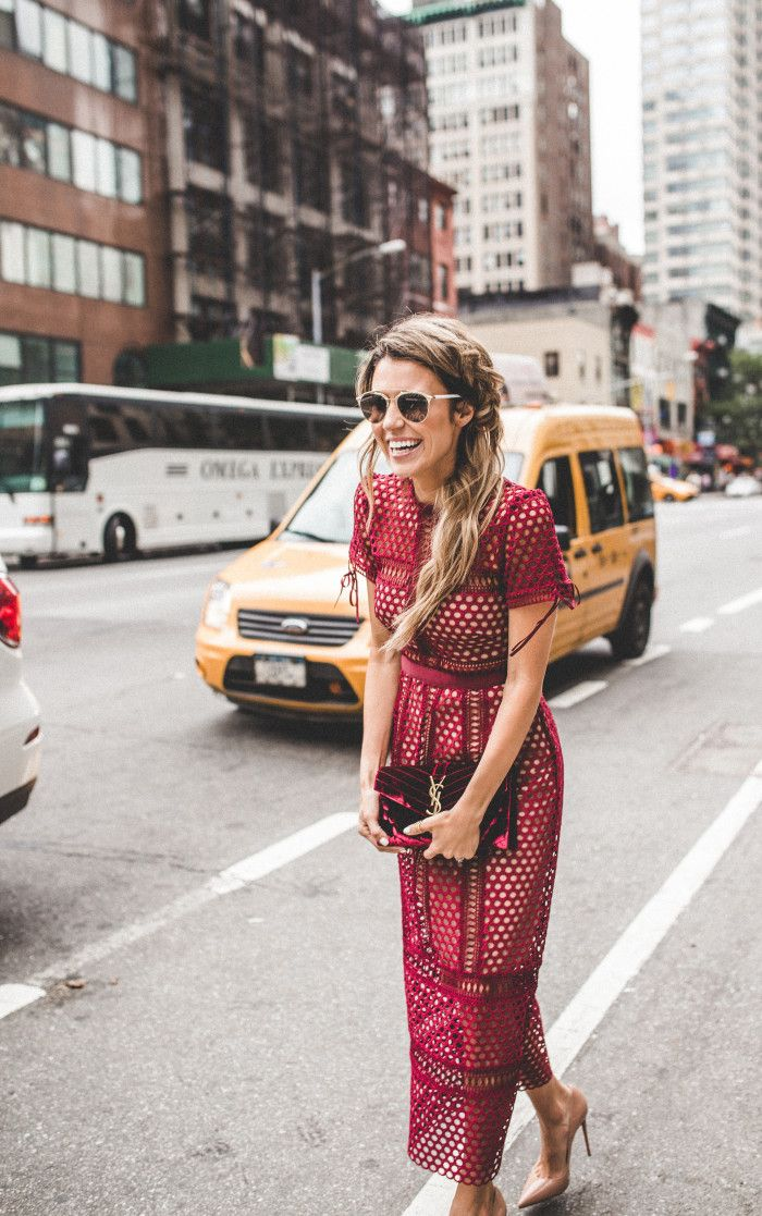red-street-style-dress-up