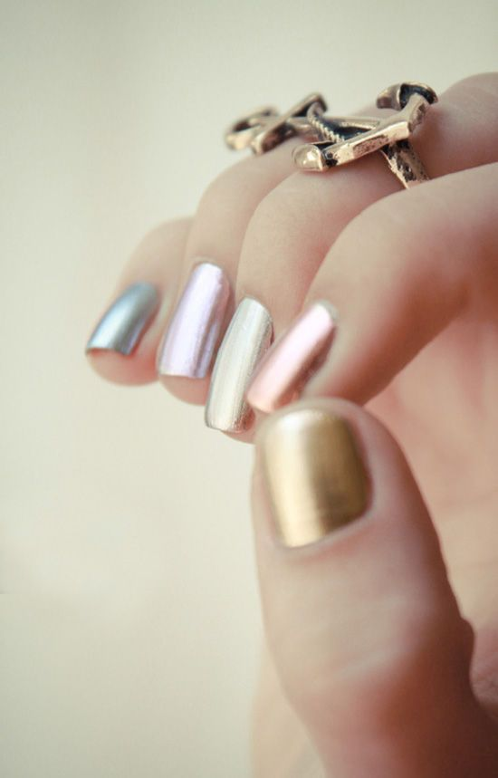 metallic-nail-polish