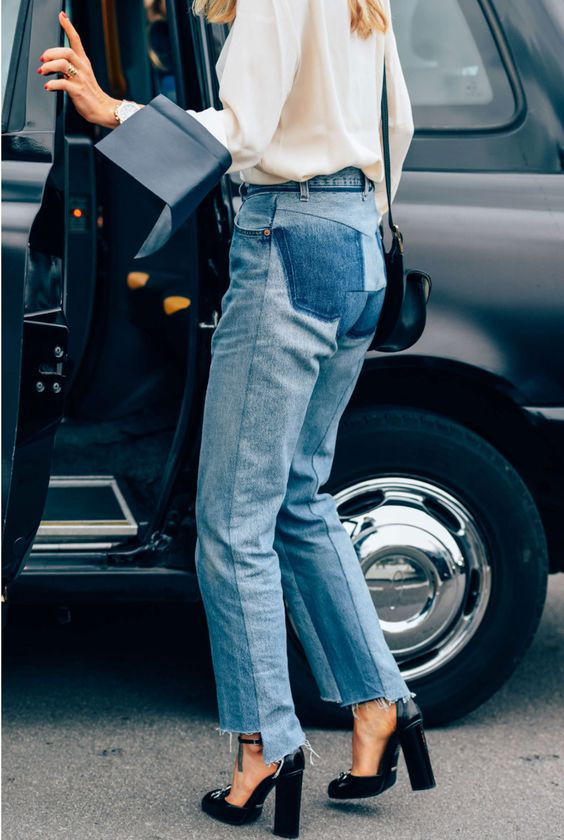 street-style-patchwork-jeans